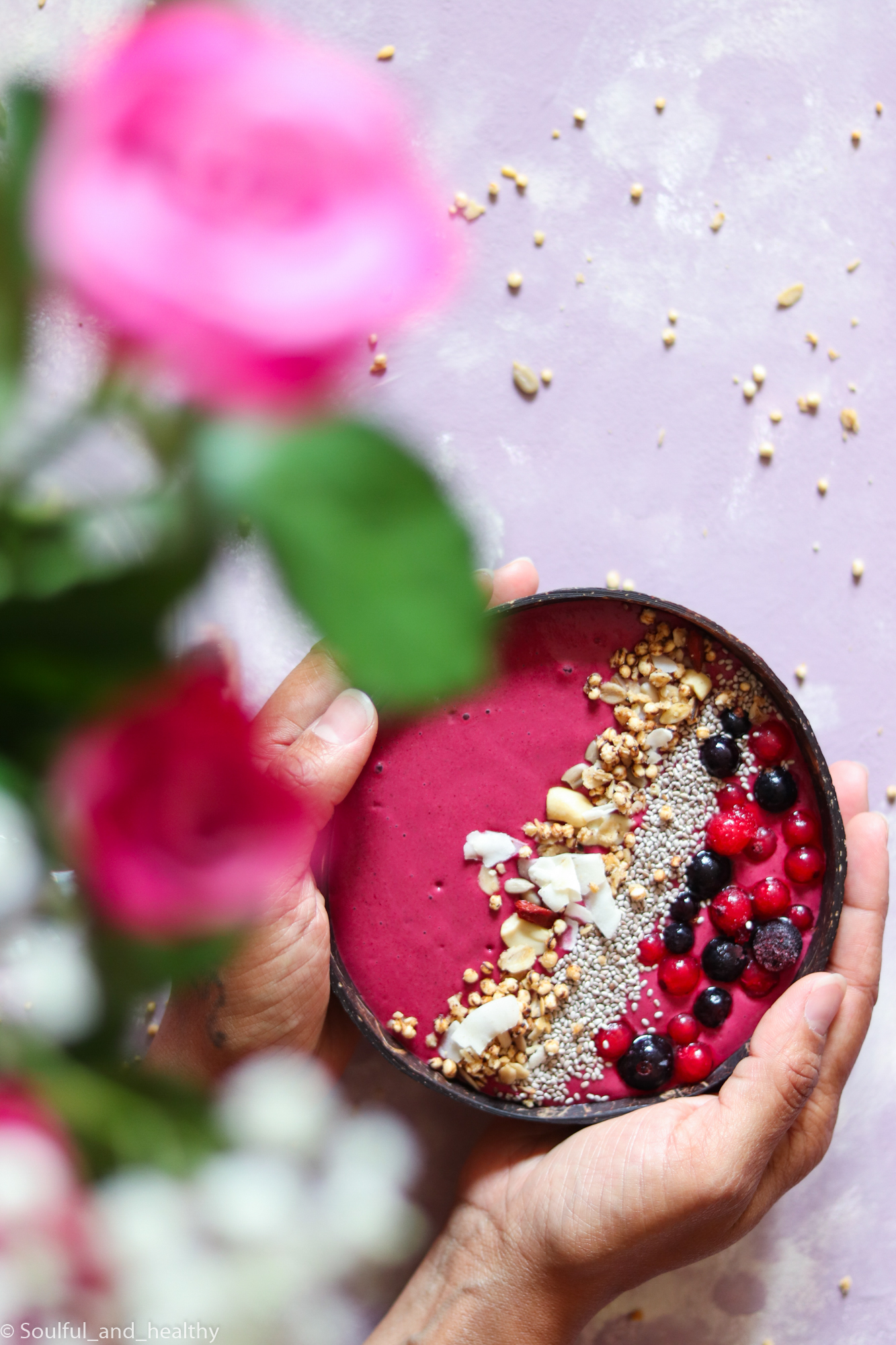 Beetroot Smoothie bowl