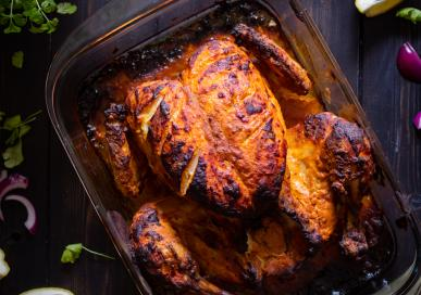 Tandoori chicken - whole chicken