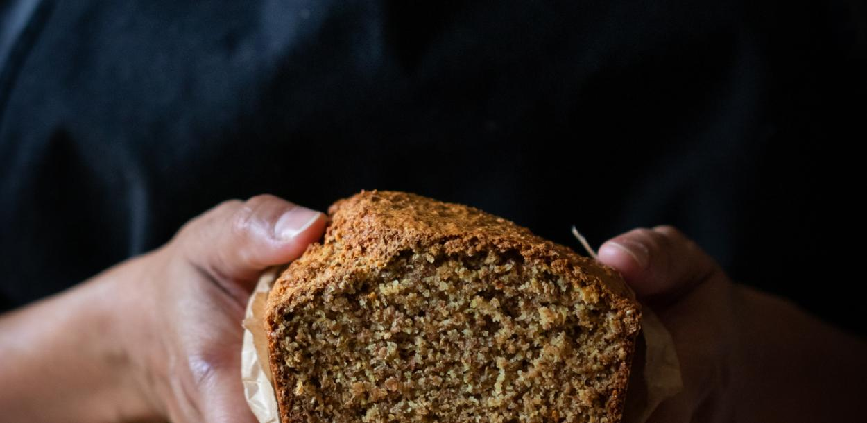 Wholegrain Irish brown bread
