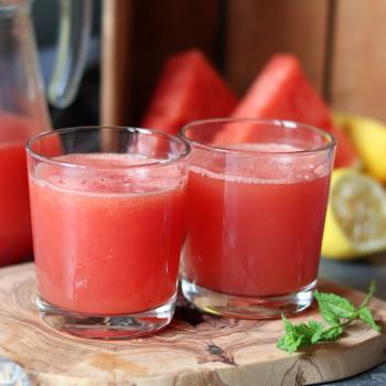 Watermelon juice (no sugar)